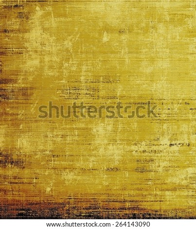 Old style detailed texture - retro background with space for text or image. With different color patterns: yellow (beige); brown - stock photo
