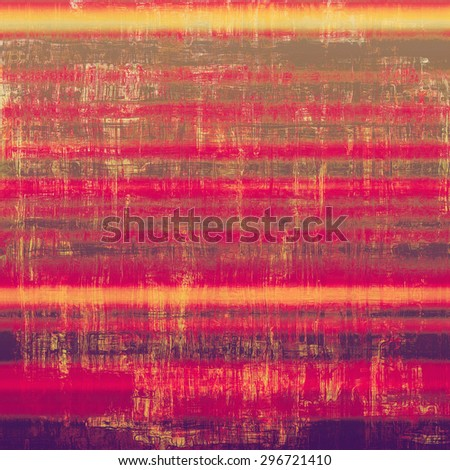 Old style detailed texture - retro background with space for text or image. With different color patterns: yellow (beige); brown; purple (violet); pink - stock photo