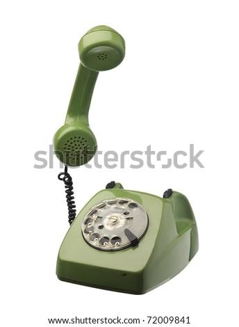 Old telephone background