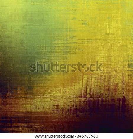 Old texture as abstract grunge background. With different color patterns: yellow (beige); brown; purple (violet); green - stock photo