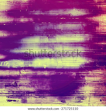 Old texture as abstract grunge background. With different color patterns: yellow (beige); purple (violet); pink - stock photo