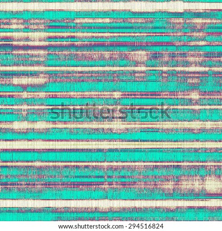Old texture or antique background. With different color patterns: yellow (beige); purple (violet); blue; cyan - stock photo
