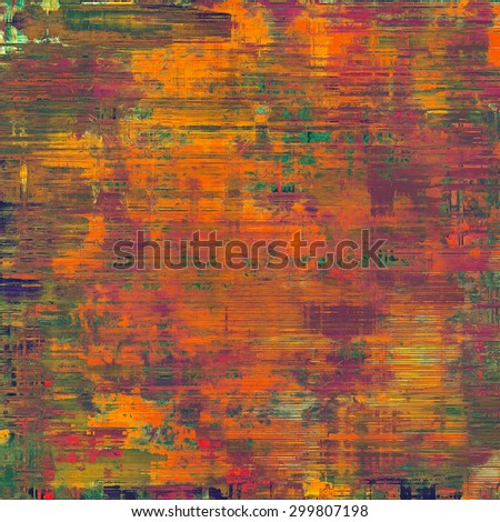Old texture - perfect background with space for your text or image. With different color patterns: brown; purple (violet); green; red (orange) - stock photo
