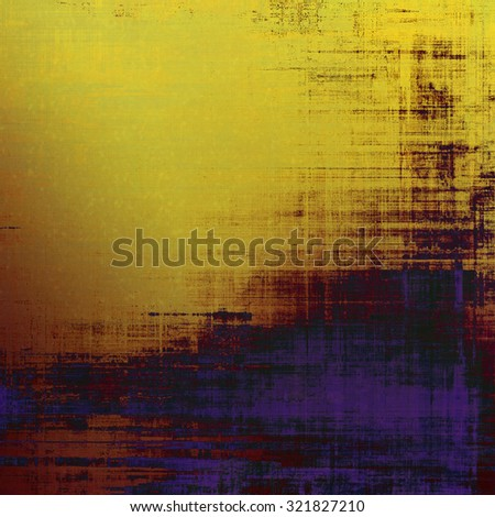 Old texture - perfect background with space for your text or image. With different color patterns: yellow (beige); brown; purple (violet); black - stock photo