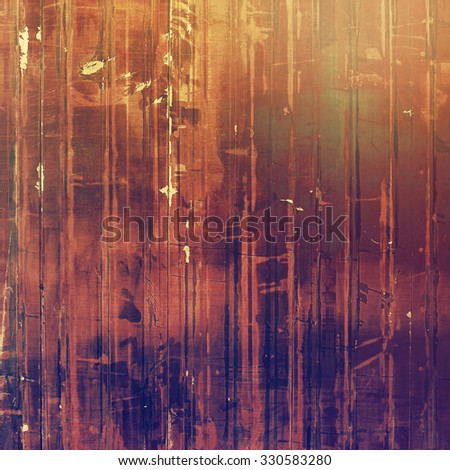 Old texture - perfect background with space for your text or image. With different color patterns: yellow (beige); brown; purple (violet); red (orange) - stock photo