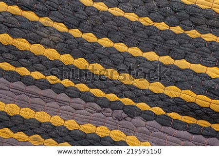 old textured canvas background. - stock photo