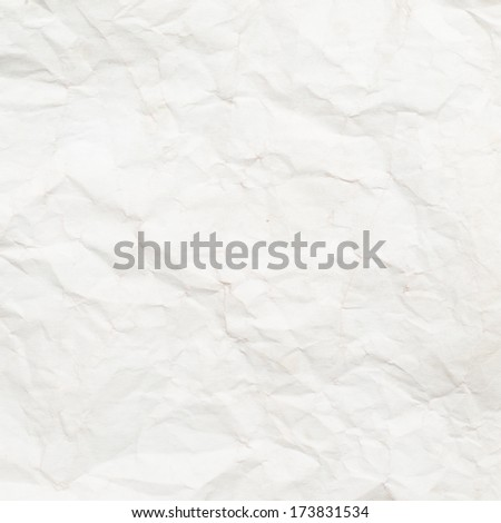 Old textured crumpled paper  - stock photo