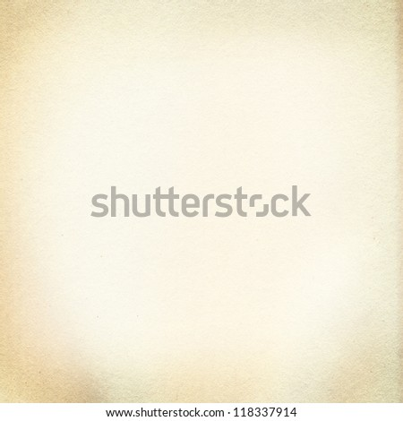 Old textured paper background, frame - stock photo