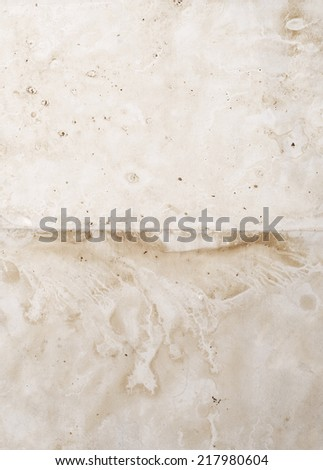 old textured paper for background - stock photo