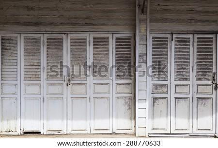 Old thai door & Old Thai Door Stock Photo 288770633 - Shutterstock Pezcame.Com