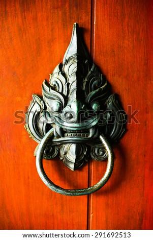 Old thai handle the door & Thai Door Stock Images Royalty-Free Images \u0026 Vectors | Shutterstock Pezcame.Com