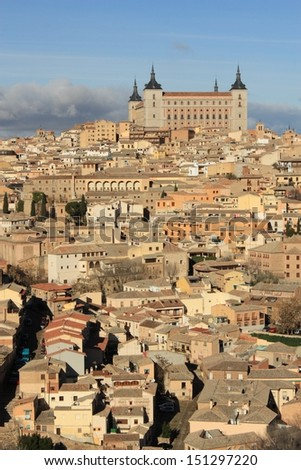 Old Toledo town, former capital of Spain.