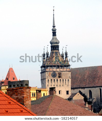 Old tower - stock photo