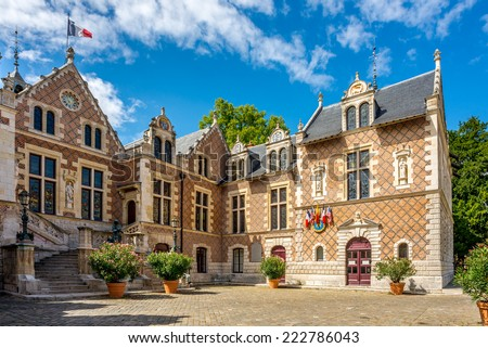 Old Town Hall in Orleans - France