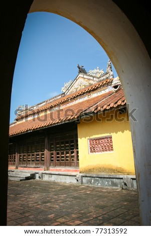 Old town, Hoi Ann, Vietnam - stock photo