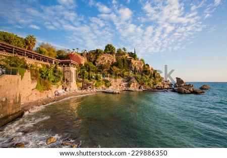 Old town Kaleici in Antalya  - stock photo