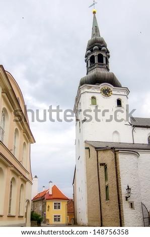 Old Town of Tallinn, Estonia - stock photo