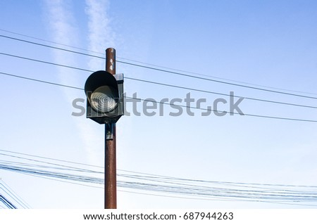 Old Traffic Light Stock Photo 687944263 - Shutterstock