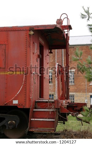 Old Train 2 - stock photo