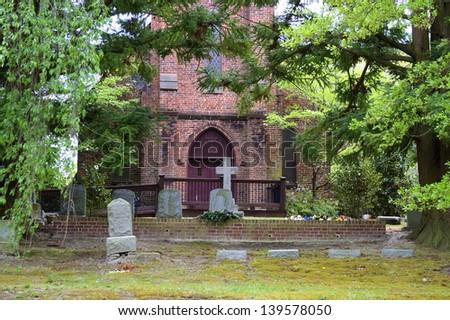 Old Trinity Church - stock photo