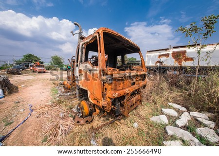 Old Truck - stock photo