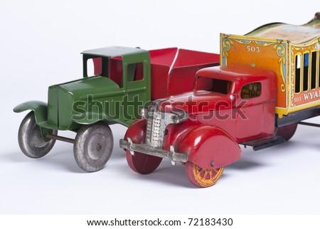 Old Trucks - stock photo