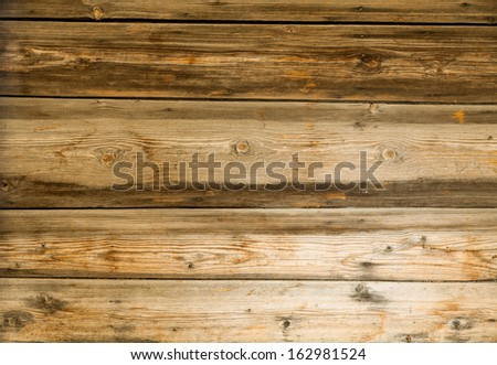 old used wood plank - stock photo