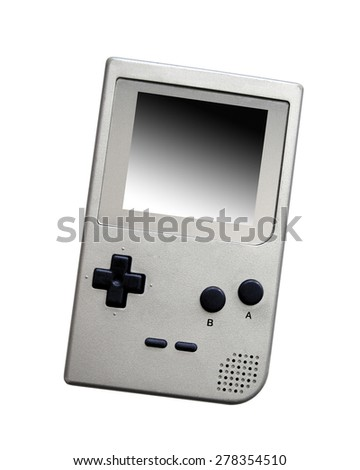 old video game - stock photo