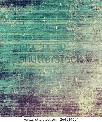 Old vintage background with retro-style elements and different color patterns: gray; purple (violet); blue - stock photo