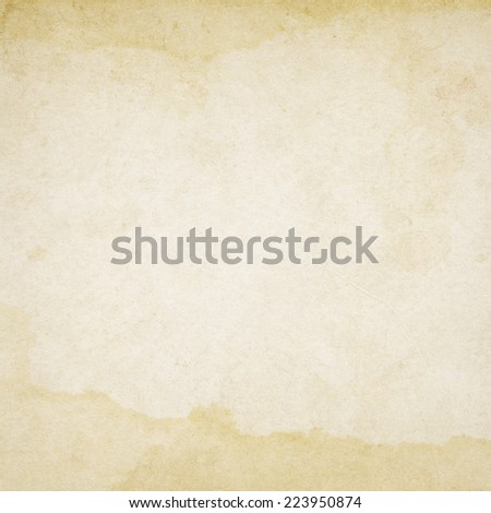 Old,vintage dirty paper with stained texture - stock photo