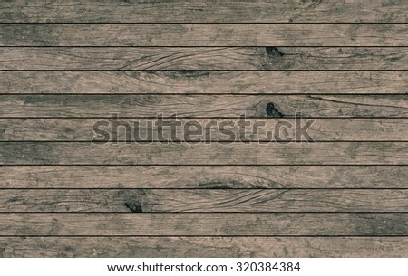 old vintage grungy brown wood backgrounds textures : grunge wooden backgrounds in horizontal line : rustic  grunge wooden backgrounds for interior,design,decorate .image with instagram filter. - stock photo