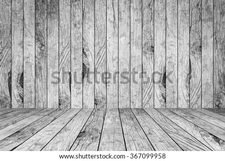 old vintage grungy grey/white wood background texture with tabletop with vignette: grunge aged wooden backdrop with wood paving.showing/promote products on montage display.image with instagram filter. - stock photo