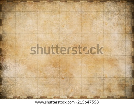 old vintage map background - stock photo