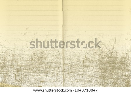 Old vintage paper background. Paper texture, Empty old paper.
