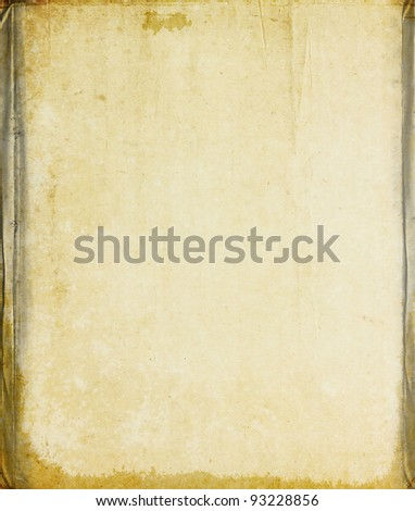 Old vintage paper texture for background - stock photo