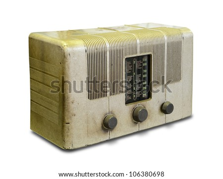 Old vintage Radio - stock photo