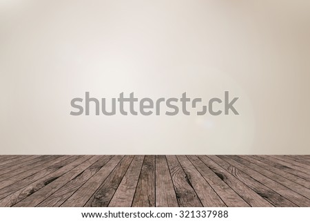 old vintage red brown wood panel tabletop with blurred light tan sepia color background:grunge aged wooden paving with blur bright beige cream  backdrop.show/advertising/promote products on display. - stock photo