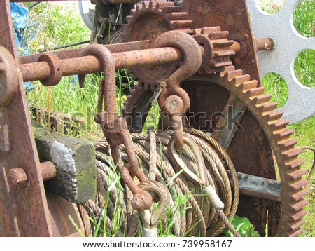 anchor winch stock images royaltyfree images amp vectors