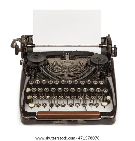 Image result for Vintage Typewriter