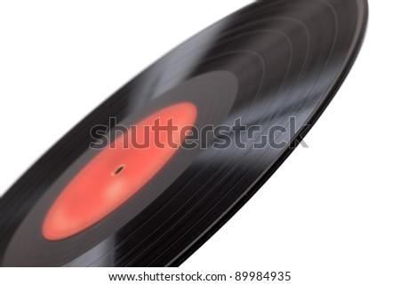 Old vinyl record - stock photo