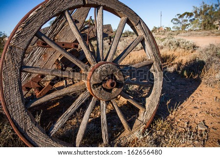 Old wagon stock images royalty free images vectors for Things to do with old wagon wheels