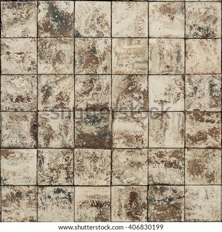 old wall ceramic tiles patterns handcraft stock photo royalty free
