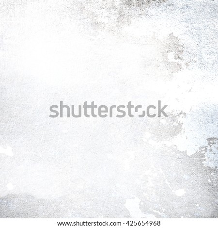 old wall concrete texture white background - stock photo