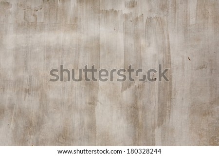 Old wall plaster brushed texture - stock photo