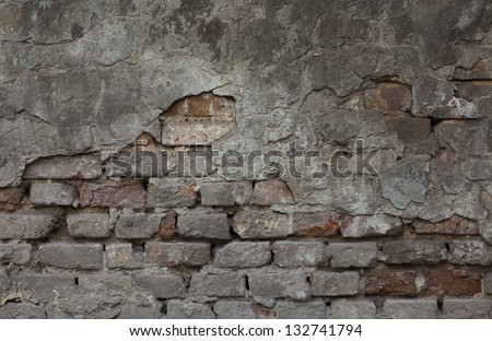 old wall texture for background - stock photo