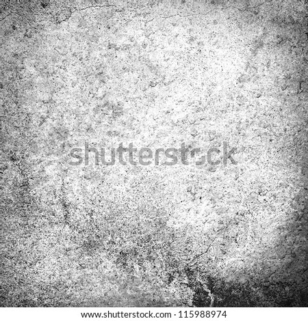 old wall texture grunge background in black and white - stock photo