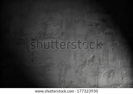 old wall texture with spotlight
