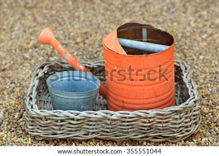 Old watering - stock photo