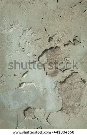 Old weathered brick wall fragment,texture. - stock photo