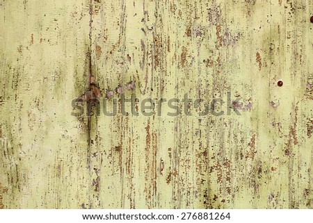 old weathered paint on wooden surface for your design